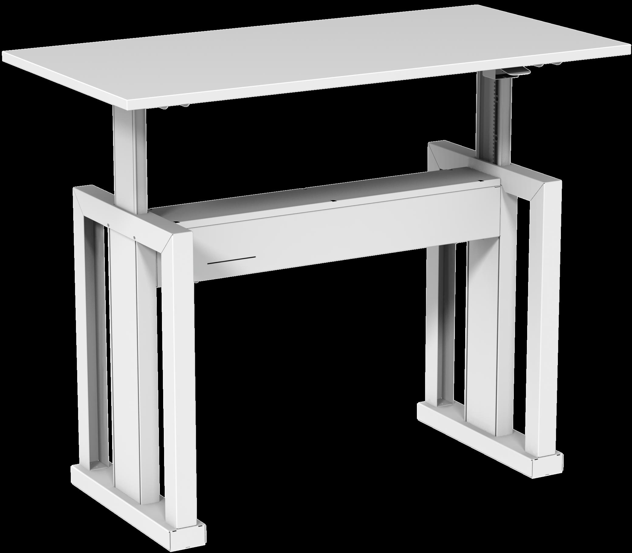 Mesa com regulagem de altura