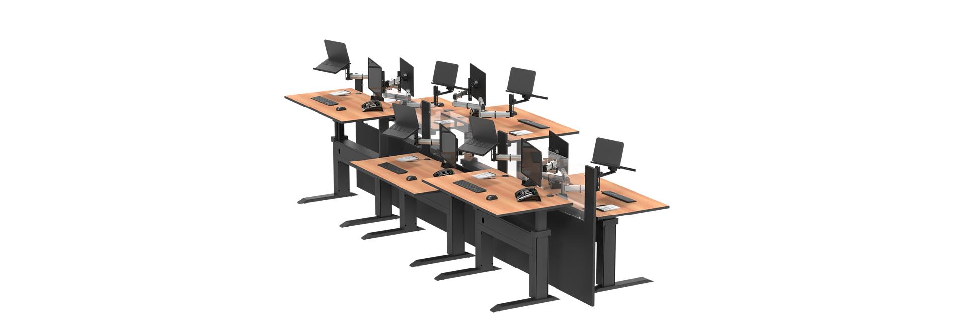 Mesa Com Regulagem de Altura | Para Equipes